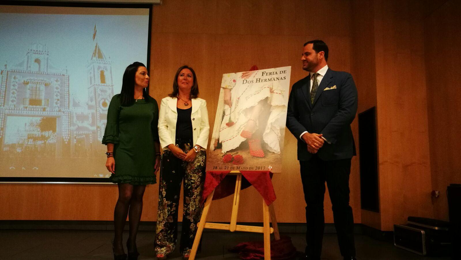 Presentación del cartel de la Feria de Mayo de Daniel Vaquero Fornet