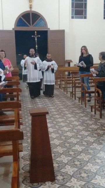 Missa de Lava pés em Jacarezinho/PR