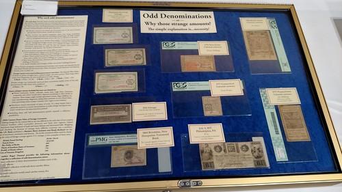 Odd Denomination exhibit