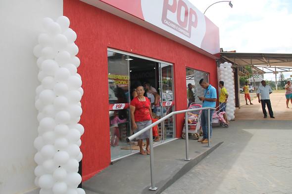 INAUGURAÇÃO DA POP CALÇADOS E CONFECÇÕES