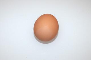 12 - Zutat Hühnerei / Ingredient egg