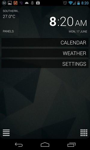 SickSky settings panel | by Arbet