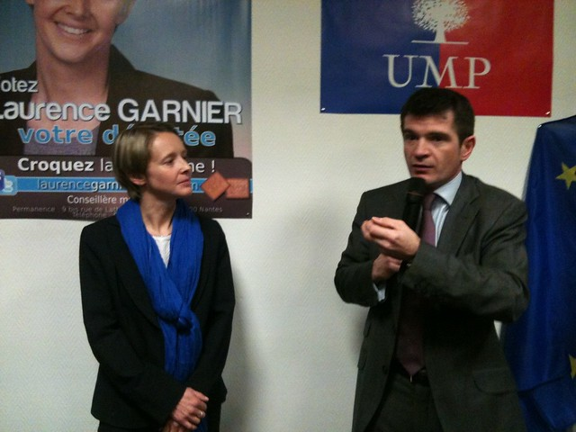 Laurence Garnier et Benoit Apparu 1