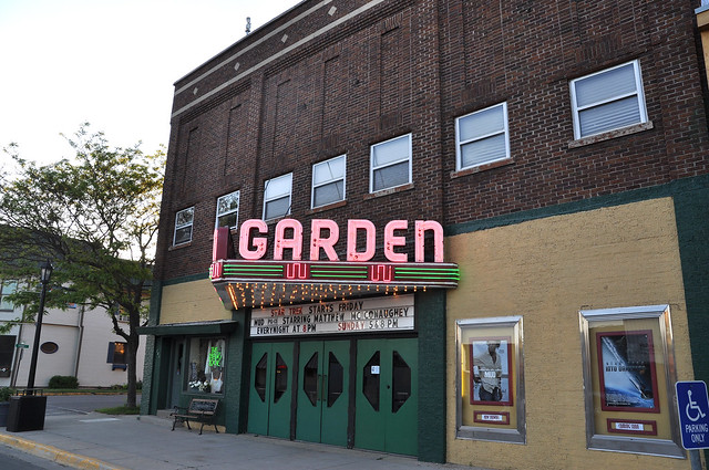 Garden Movie Theater In Downtown Frankfort Photo By Michigan Municipal League Flickr Photo