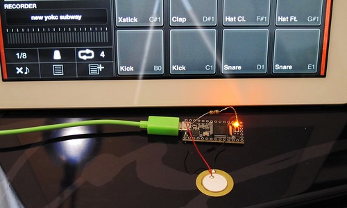 Drum Machine Midi Triggers : arduino teensy midi drum trigger trigger drum samples on flickr ~ Vivirlamusica.com Haus und Dekorationen