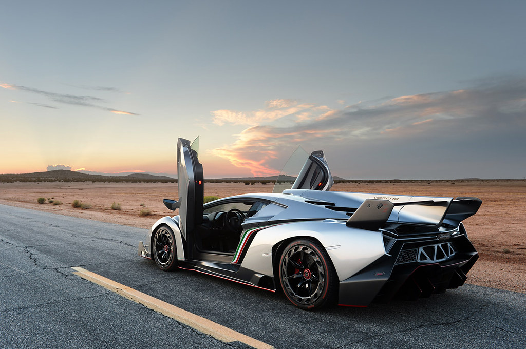 Lamborghini Veneno Doors Open Photo By Drew Phillips
