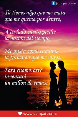 Frases De Amor Poema Para Enamorar Con Imagen De Pareja E Flickr