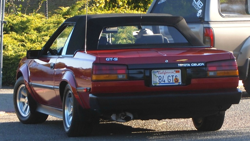1984 Toyota Celica Gt S Convertible 84 Gts 3