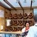 Oktoberfest in Munich: pretzel bakery