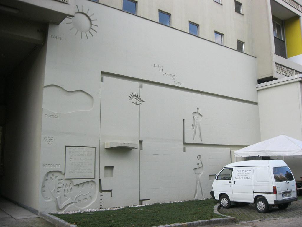 1956/58 berlin-w. modulor an interbau-unité d'habitation t… | flickr