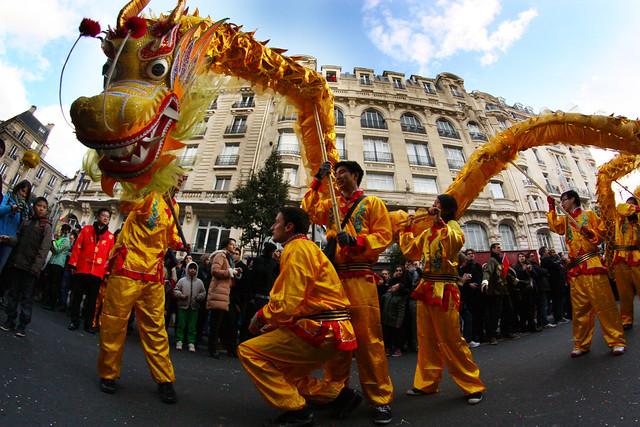 Paris nouvel an chinois 2014