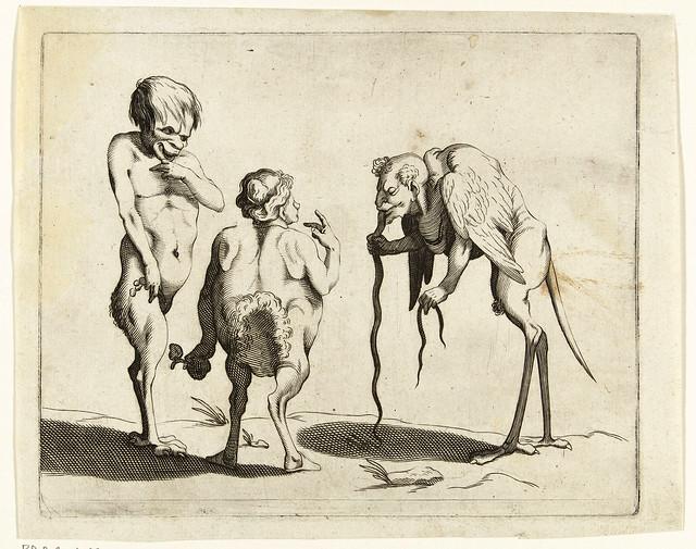 005- Dibujos grotescos - Arent van Bolten- Rijksmuseum
