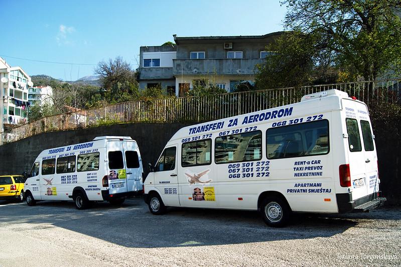 Трансферные микроавтобусы