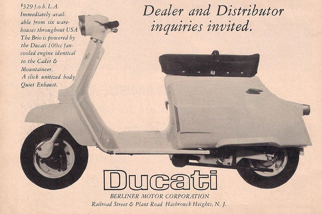 Ducati scooter