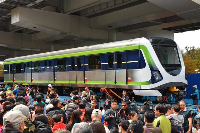 台中捷運綠線車廂