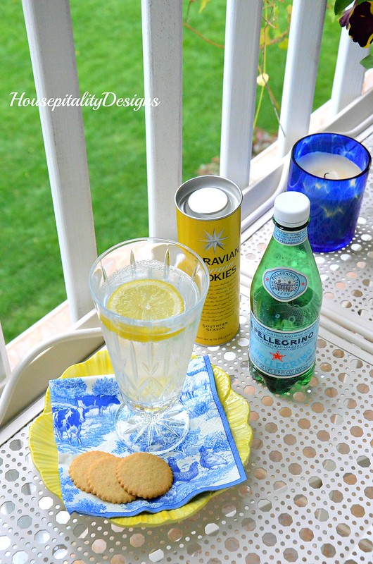 Porch Refreshments-Spring Porch-Housepitality Designs