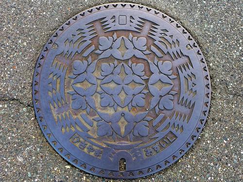 Hisayama Fukuoka, manhole cover (福岡県久山町のマンホール)