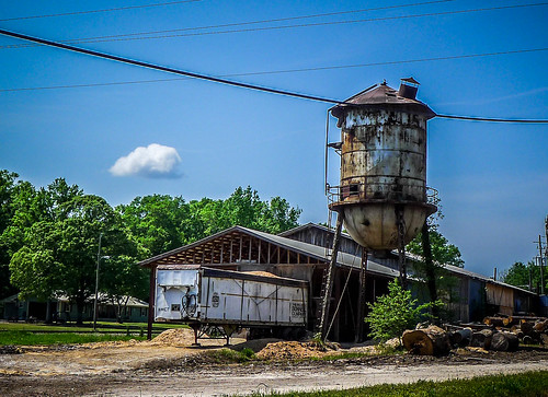 Shady Dale Water Tower and Lumbe