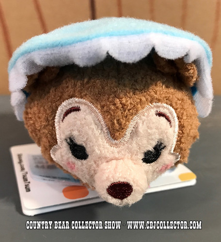 2017 Disney Mini Tsum Tsum 'Bonnet Bear' - Country Bear Collector Show #097