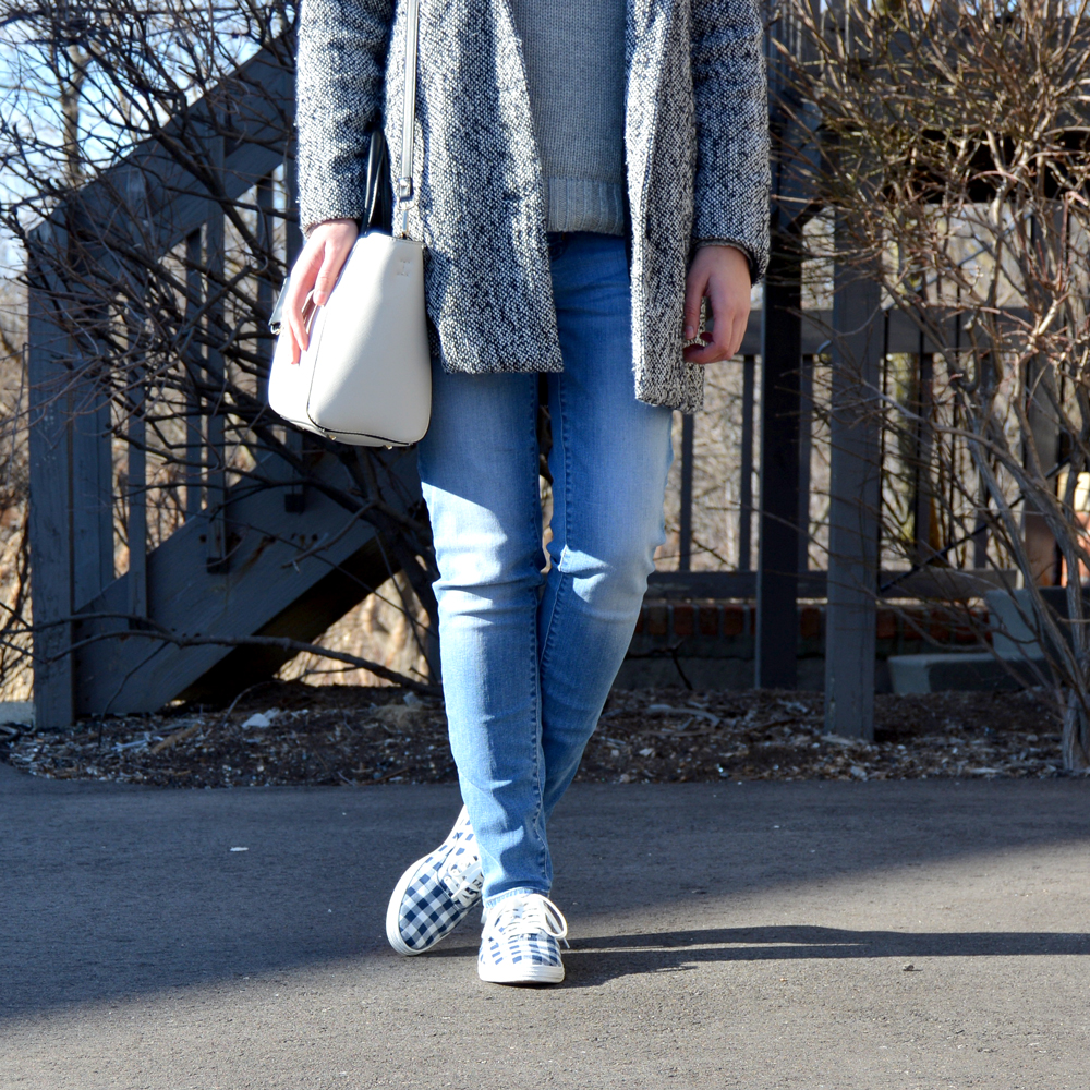 Trend to Watch: Gingham Sneakers