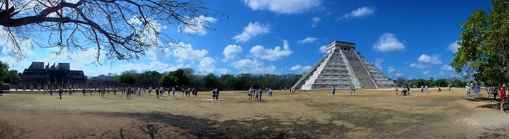 P3110197 Pano Chichen Itza Yucatan México Patrimonio de la Humanidad UNESCO