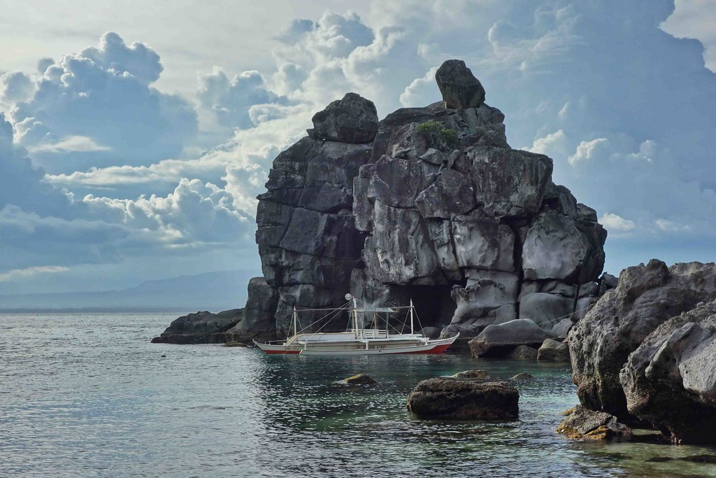 Apo Island - Rocher
