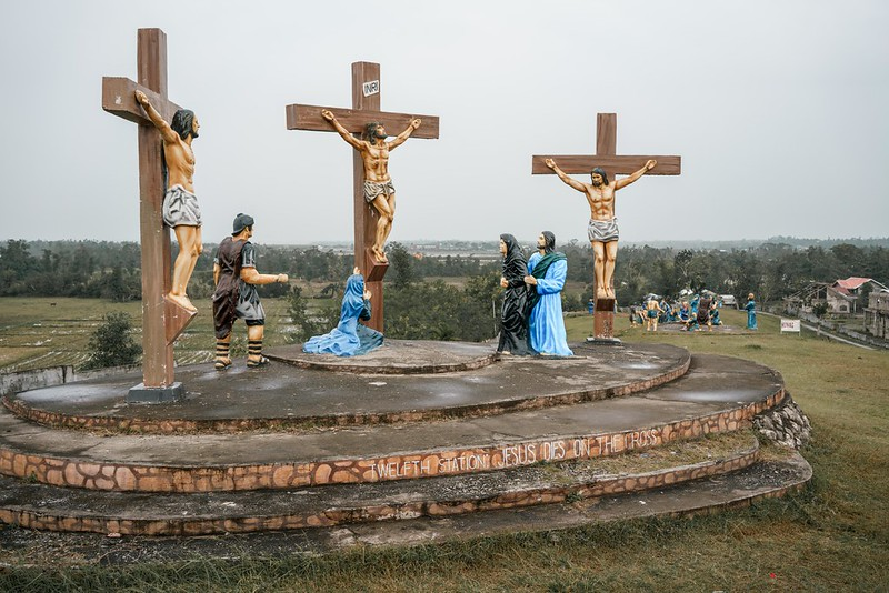 Stations of the cross at the Calvary Hills