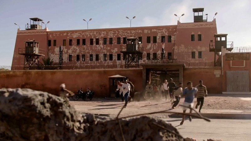 The jail in Morocco