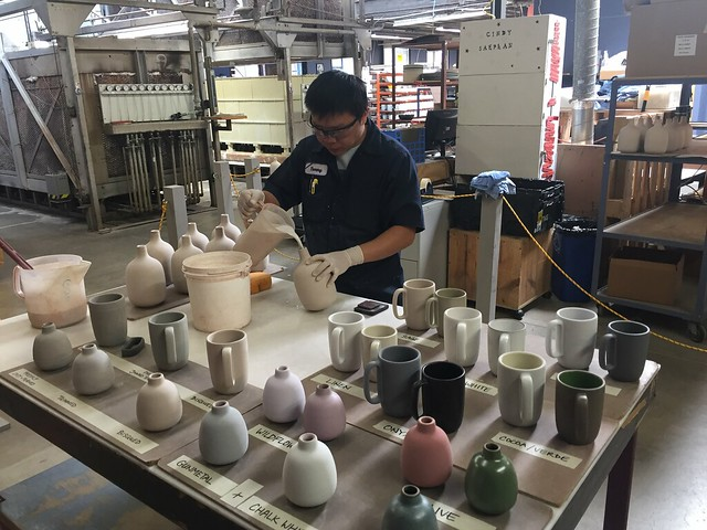 Heath Ceramics factory