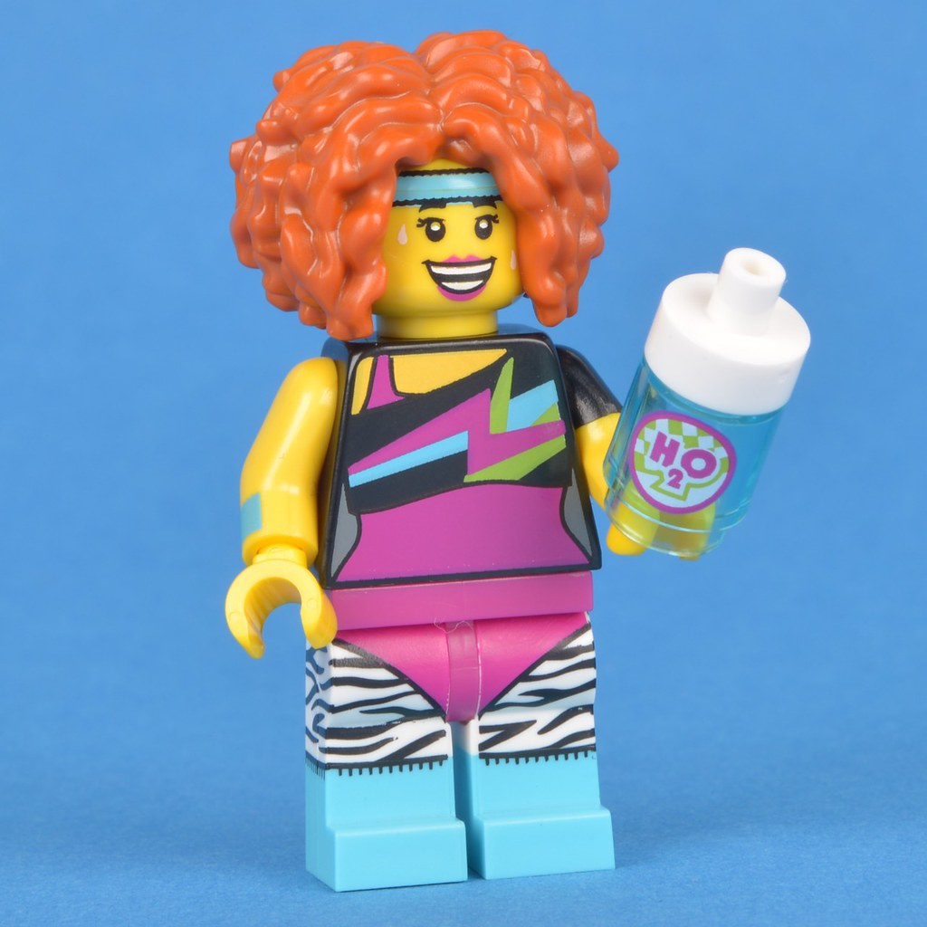 LEGO NEW SERIES DANCE INSTRUCTOR GIRL MINIFIG MINIFIGURE 71018