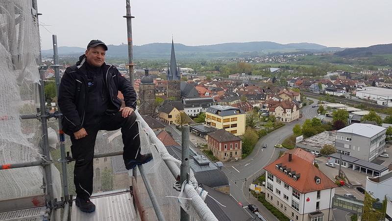 Schieferdeckung Martin-Luther-Kirche Lichtenfels