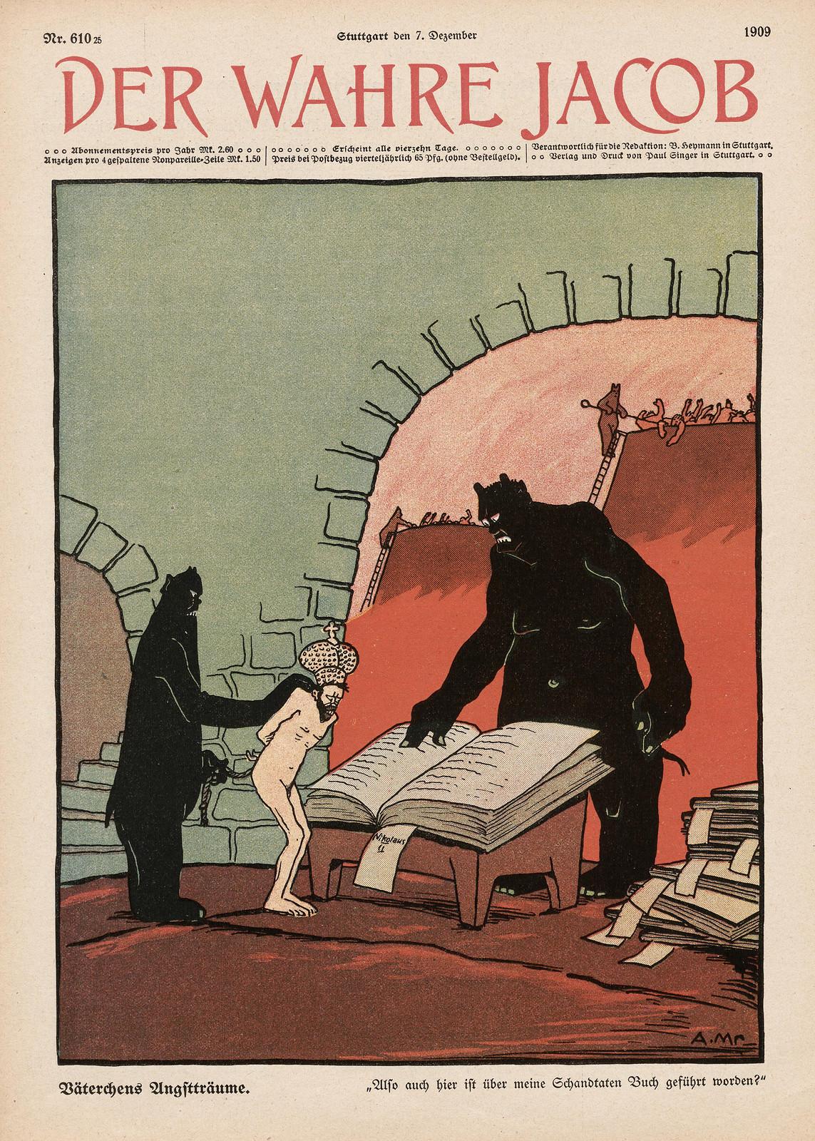 A. Mrawek - Father's Dreams, 1909