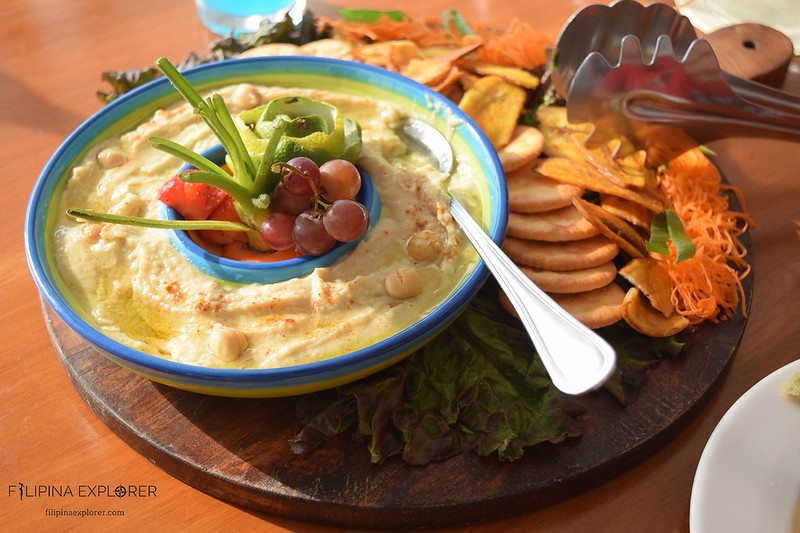 Greek dish at Vitalis
