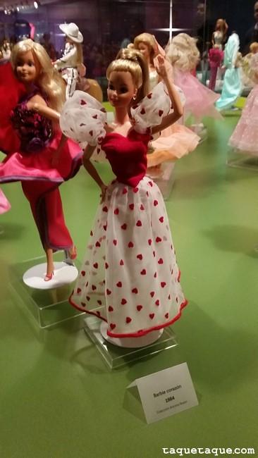 Barbies de 1980s - Barbie Corazón (1984)