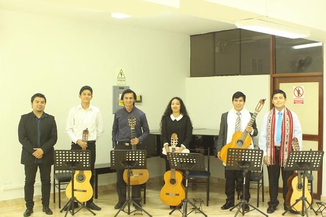 Recital de Guitarra Clásica, Andina y Criolla del Instituto de Arte.