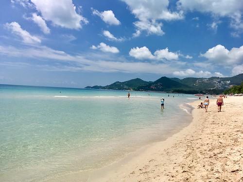 今日のサムイ島 4月21日 チャウエンビーチ!