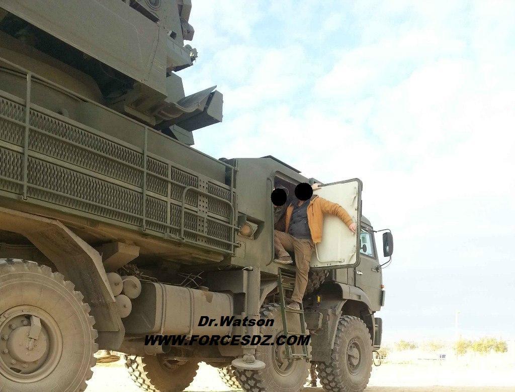 القوات البرية الجزائرية [ Pantsyr-S1 / SA-22 Greyhound ]   34173847006_69d4bce84c_b