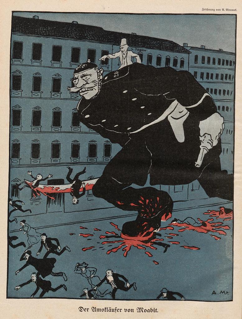 A. Mrawek  - Der Amokläufer von Moabit, 1910