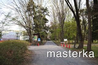 菅谷館公園入り口