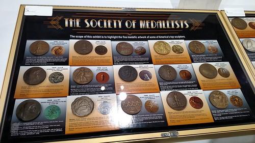 Society of Medallists exhibit