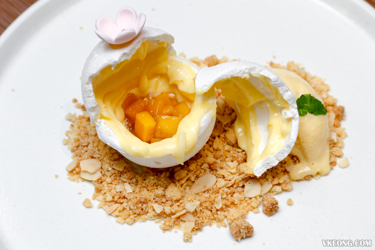 Eighty9 Deconstructed Lemon Meringue Pie