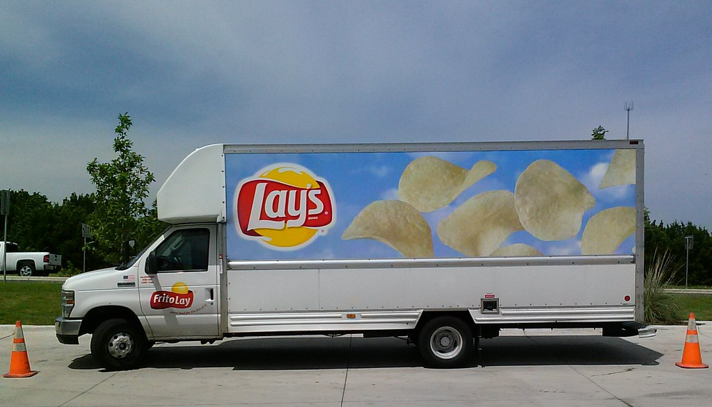 Frito Lay Chevy Delivery Truck Centexphoto Flickr