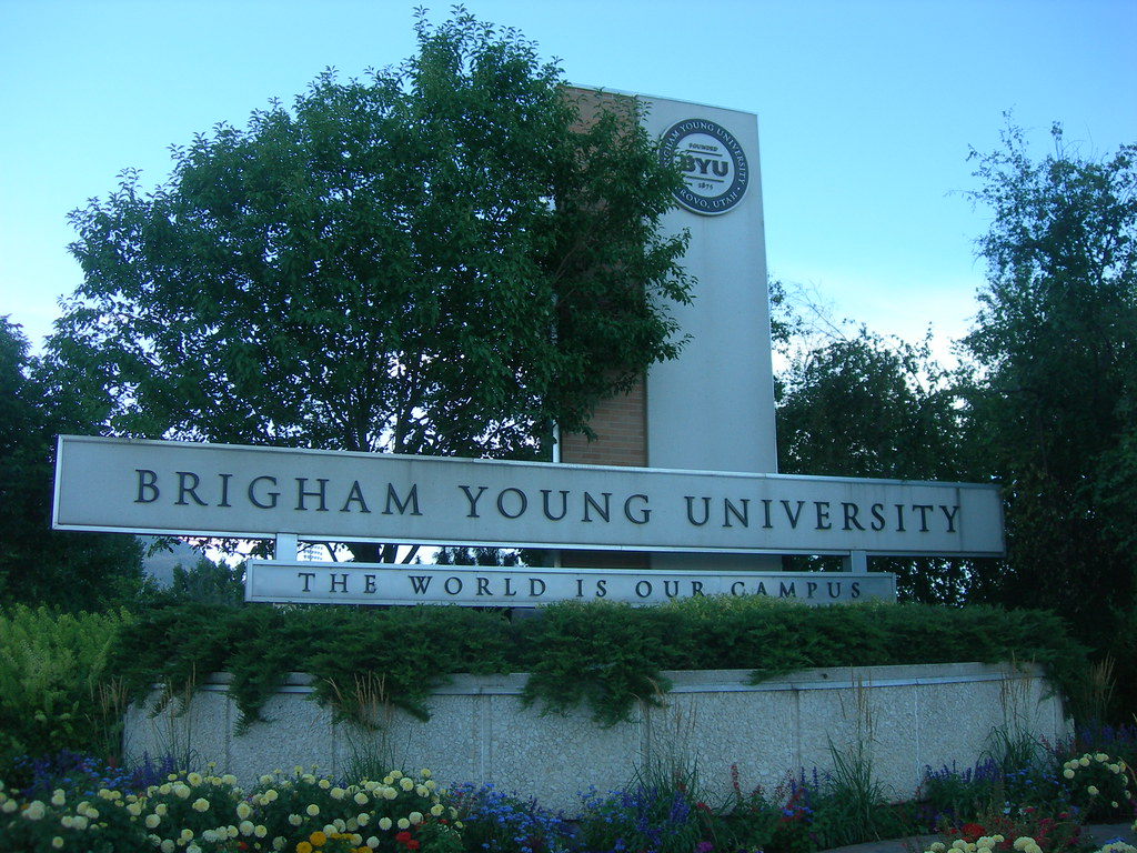 Brigham Young University Provo Utah Jimmy Emerson