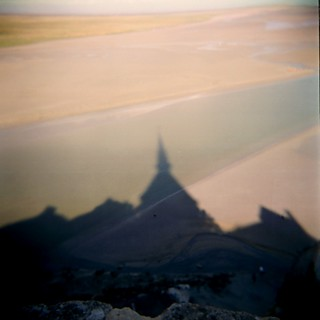 shadow of mont st michel | by microabi
