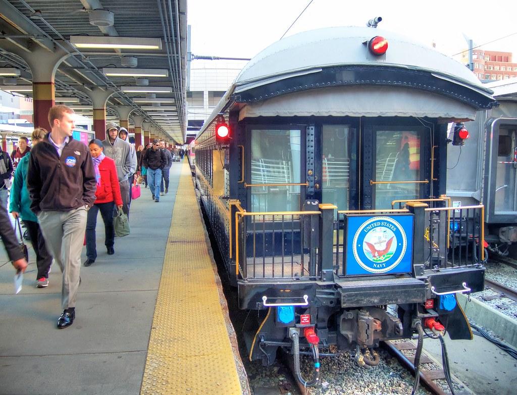 Private Train Car Travel In Califorina