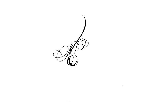 calligraphie tatouage lettres entrelacees calligraphie tat flickr. Black Bedroom Furniture Sets. Home Design Ideas
