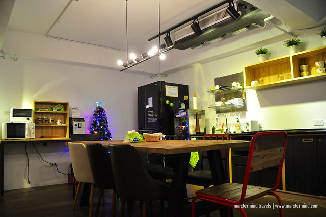 Dining Space at We Come Hostel