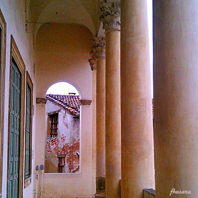 Palazzo Barbaran Da Porto, prospettiva