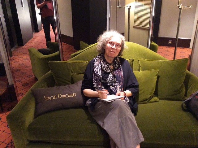 Hotel Scribe in Paris--with Diaghilev pillow. From The Chosen Maiden: Bronia Nijinska and Modern Dance