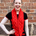 Chunky Cowl Red #1